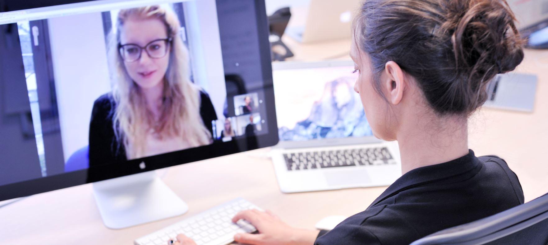 Webtelefonie, Videokonferenz