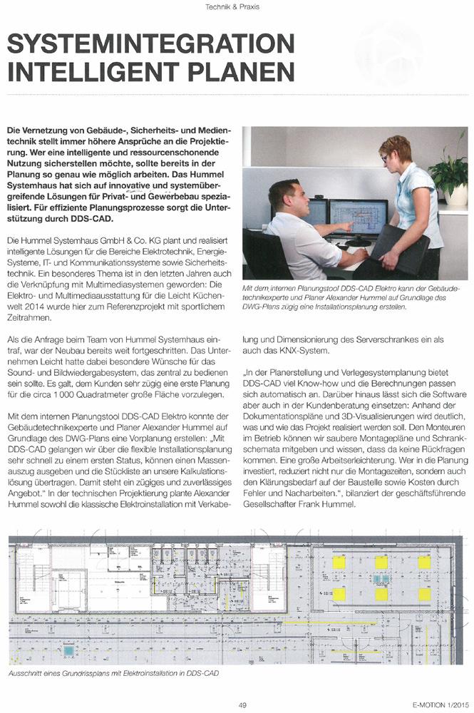 Artikele Motionhummel Ddscad Hummel Systemhaus