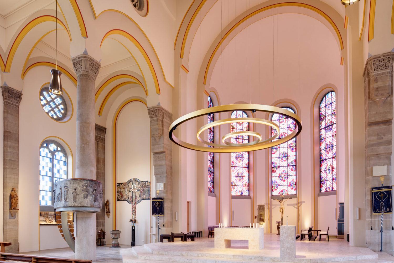 Lichtszenarien Neuhausen, Filderdom Sanierung, Elektroinstallationen