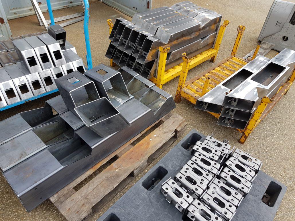 Ladestation Produktion, neue Ladestation Revolution E im Hause HUMMEL