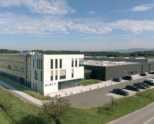 Elero Schlierbach neuer Firmensitz