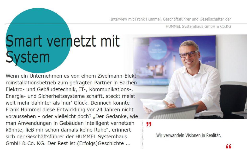Interview Frank Hummel