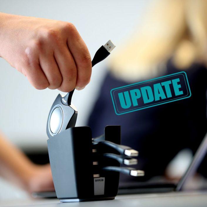 ClickShare das Update