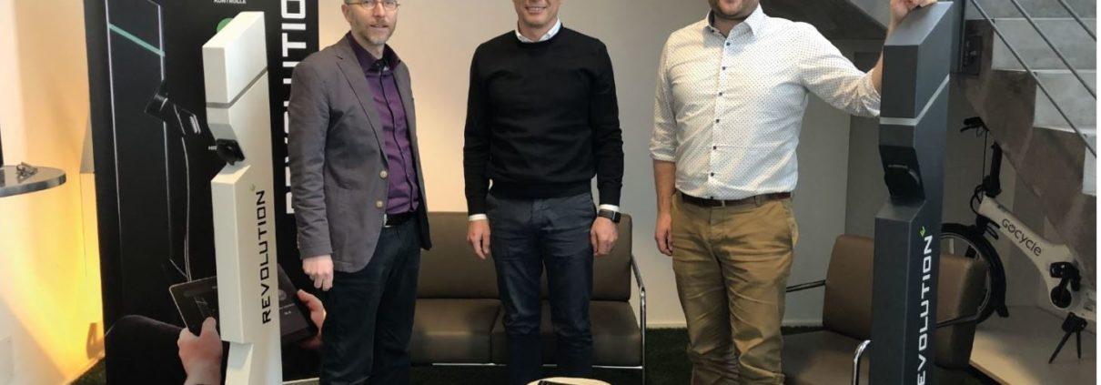 Besuch von Herrn Gastel, Bundestagsabgeordeter der Grünen.
