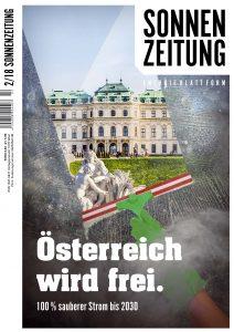 Sonnenzeitung 2/2018 / Copyright Uranus Verlag.