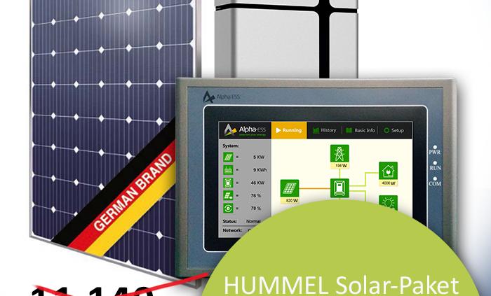 Solar-Paket Solaranlage Angebot