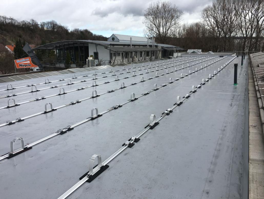 PV Anlage für Stahlbau Nägele in Eislingen