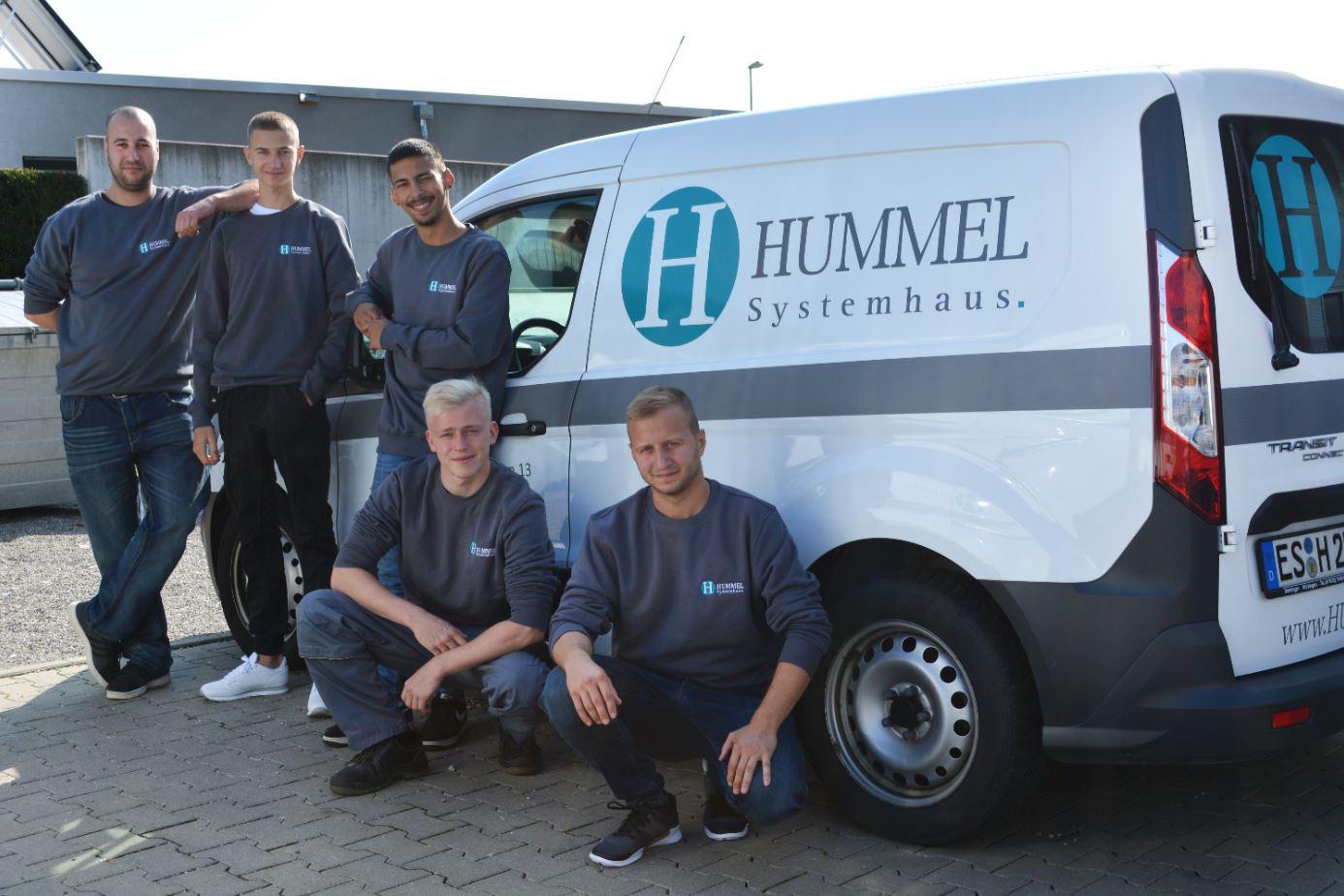 Auszubildende für Energie- und Gebäudetechnik in Frickenhausen