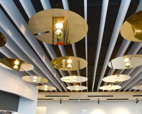 LED Lampen, warmes Licht, Decke, modernes Ambiente